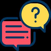 frågor och svar ikon casivo se