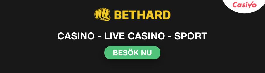 bethard live casino banner casivo se