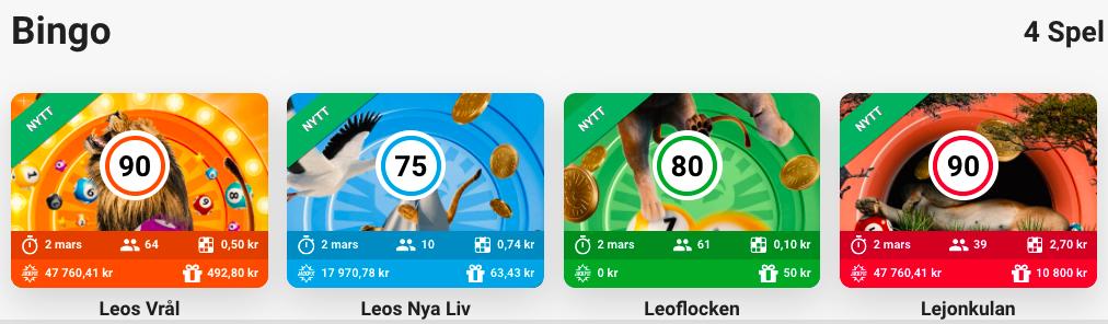 bingo online spel leo vegas casivo