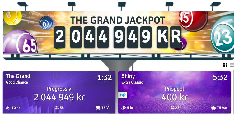 bingo.com jackpott bingo online casivo se