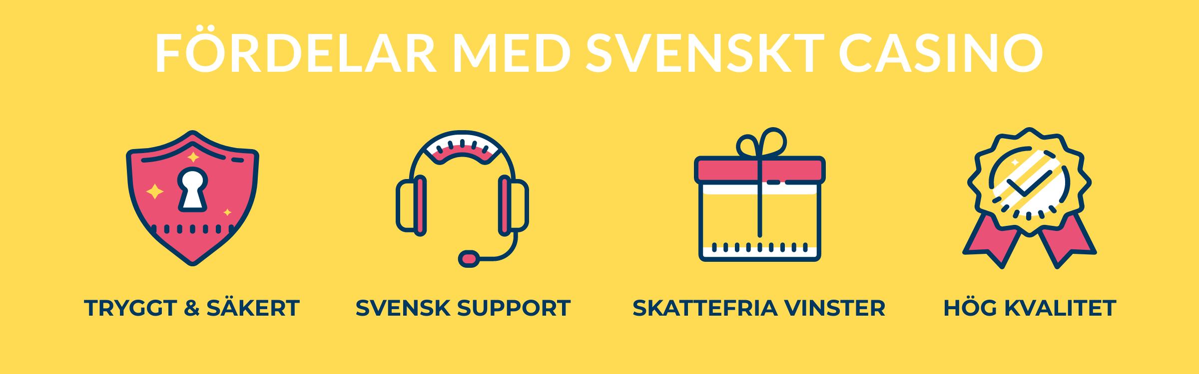 fordelar med svenska casinon lista casivo se
