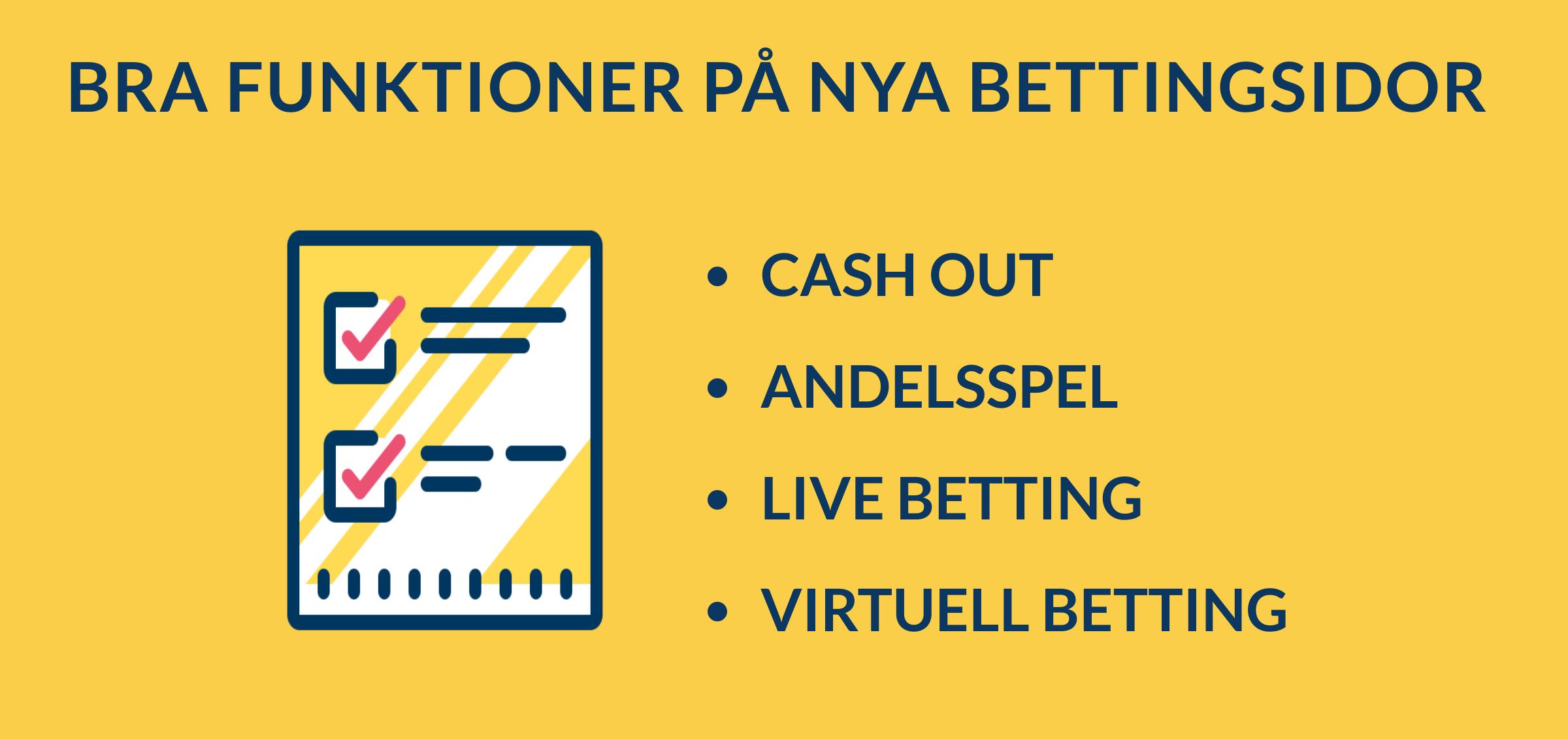 funktioner på nya bettingsidor casivo se