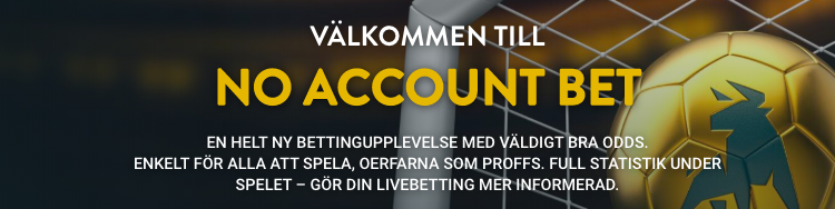 no account bet bra odds nya spelare betting casivo se