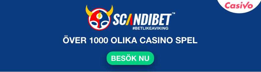 scandibet nytt casino spel casivo se