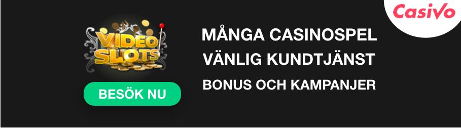 videoslots casino banner kundtjänst casivo se