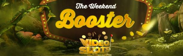 weekend booster videoslots casino erbjudande augusti casivo se