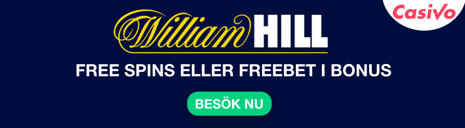 william hill bonus omsattningsfri free spins free bet casivo se