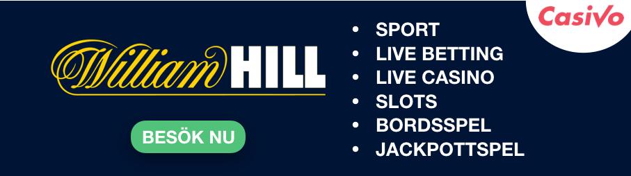 williamhill spelutbud med casino och betting casivo se